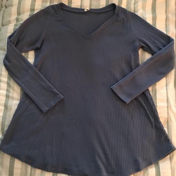 Pinkblush Sweaters - Pinkblush Maternity Waffle Knit Sweater / Tunic